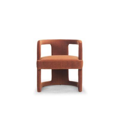 Depuy Barrel Chair Upholstery: Rust