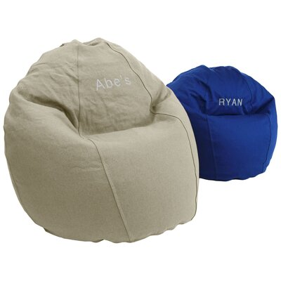 Comfy Bean Bag Chair Upholstery: Earth