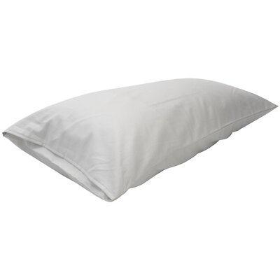 Gingras Pillow Case Size: 6 H x 16 H Adjustable, Color: White