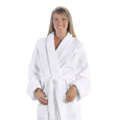 Tahoe Bathrobe Color: White