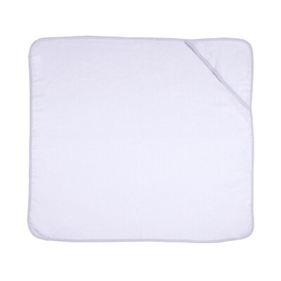 Peterson Hooded Baby Bath Towel Color: White