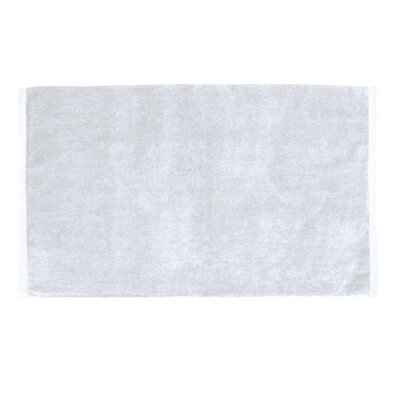 Petersburg Velour Hand Towel Color: White
