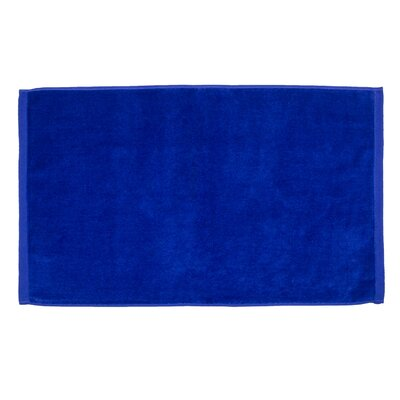 Petersburg Velour Hand Towel Color: Royal