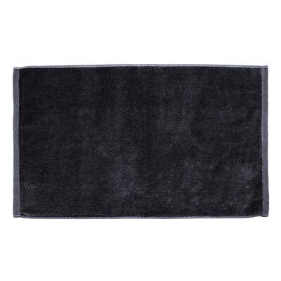 Petersburg Velour Hand Towel Color: Black