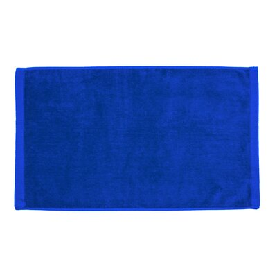 Perry Premium Velour Hand Towel Color: Royal