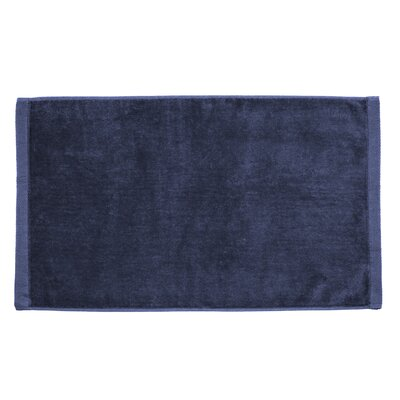 Perry Premium Velour Hand Towel Color: Navy