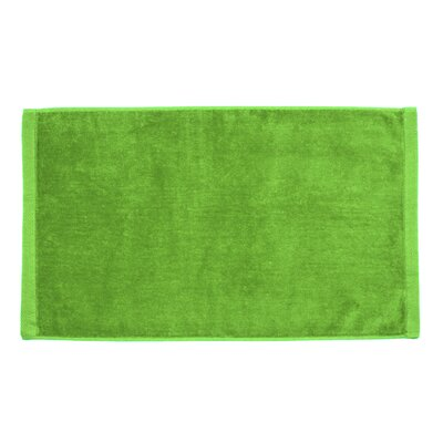 Perry Premium Velour Hand Towel Color: Lime Green