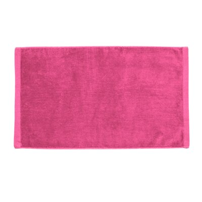 Perry Premium Velour Hand Towel Color: Hot Pink