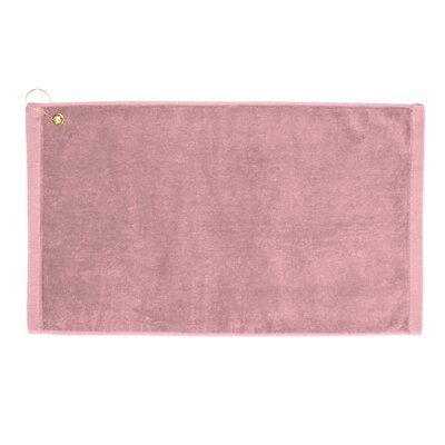 Perry Premium Velour Hand Towel Color: Light Pink