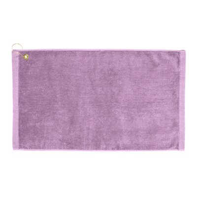 Perry Premium Velour Hand Towel Color: Lavender