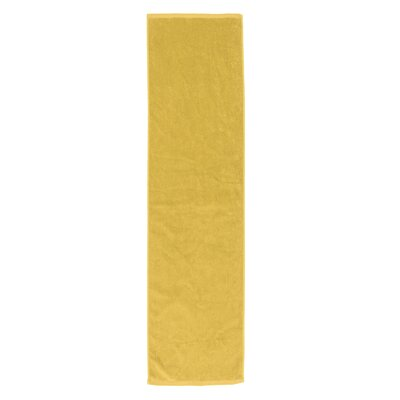 Perivale Premium Velour Fitness Hand Towel Color: Yellow