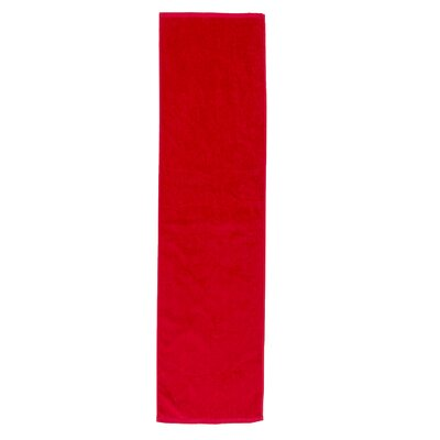 Perivale Premium Velour Fitness Hand Towel Color: Red