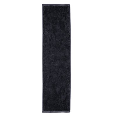 Perivale Premium Velour Fitness Hand Towel Color: Black