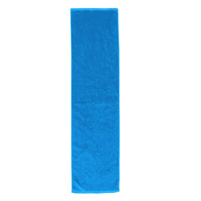 Perivale Premium Velour Fitness Hand Towel Color: Aqua