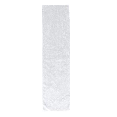 Perivale Premium Velour Fitness Hand Towel Color: White