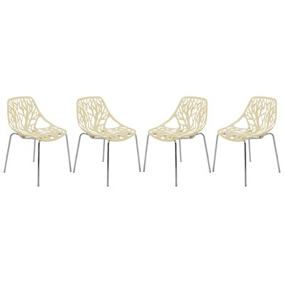 Eatontown Dining Chair Color: Cream