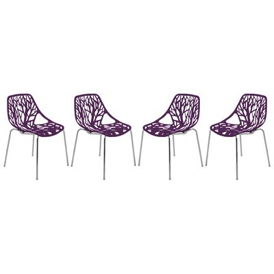 Eatontown Dining Chair Color: Purple