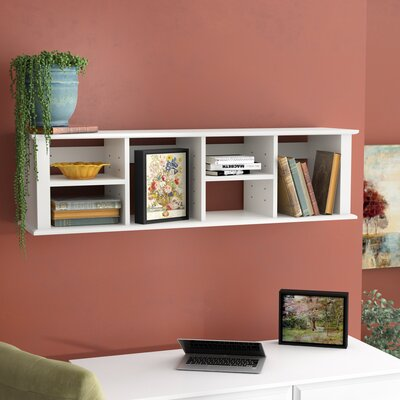 McLean 13 H x 48 W Desk Hutch Finish: Fresh White