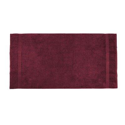 Annuziata Loop Beach Towel Color: Burgundy