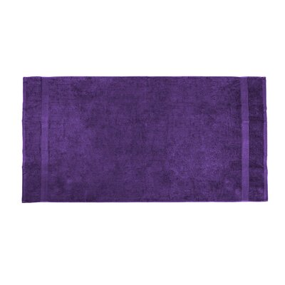 Annuziata Loop Beach Towel Color: Purple