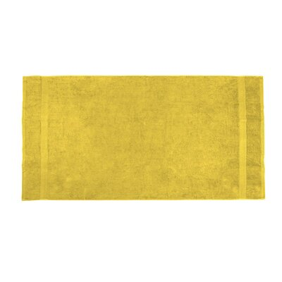 Annuziata Loop Beach Towel Color: Yellow