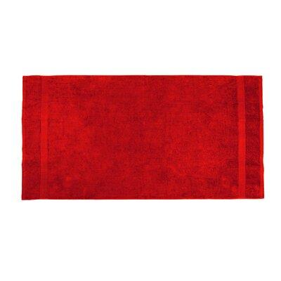 Annuziata Loop Beach Towel Color: Red