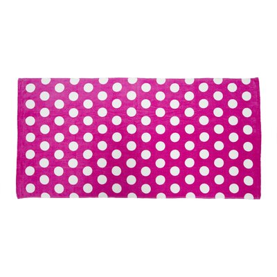 Velour Beach Towel Color: Fuchsia