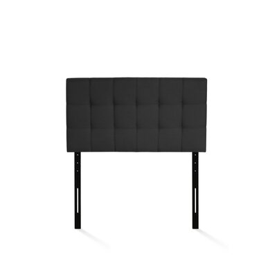 Jessee Tufted Upholstered Panel Headboard Size: Twin