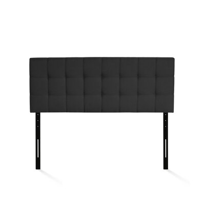 Jessee Tufted Upholstered Panel Headboard Size: Full