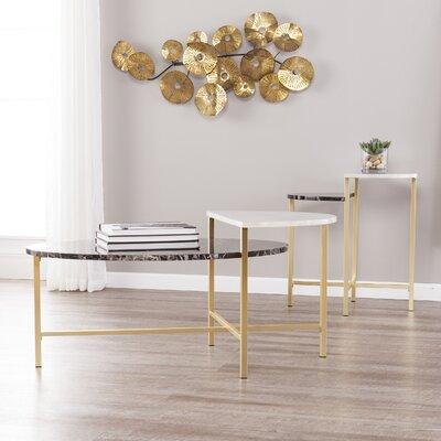Arsenovic 2 Piece Coffee Table Set