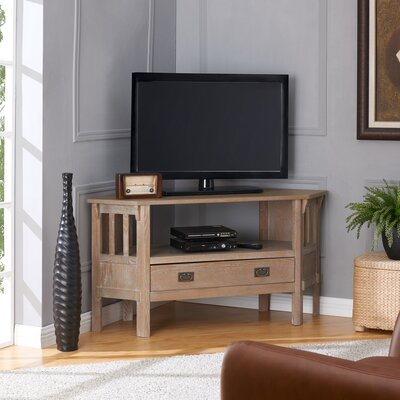 48 TV Stand Color: Burnt Oak
