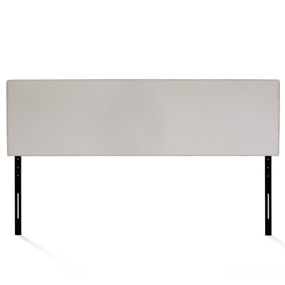 Jessee Plain Upholstered Panel Headboard Size: King