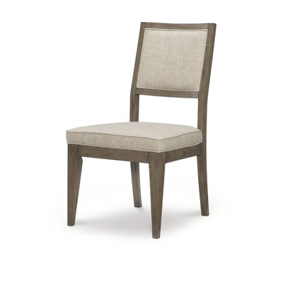 Whicker Upholstered Dining Chair (Set of 2)