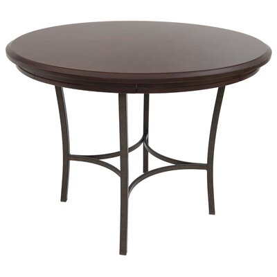 Cafferata Gathering Pub Table Color: Autumn Rust/Monarch