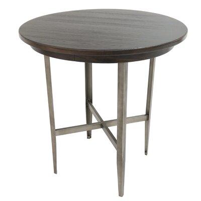Hedden Pub Table Color: Rustic Silver/Ebony