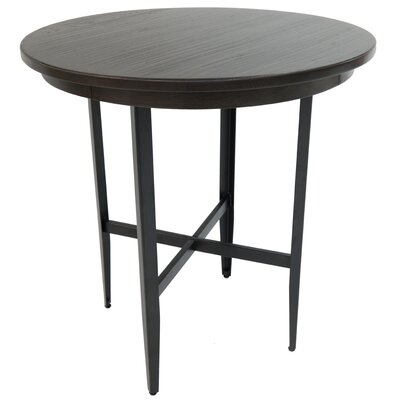 Hedden Pub Table Color: Phantom/Ebony