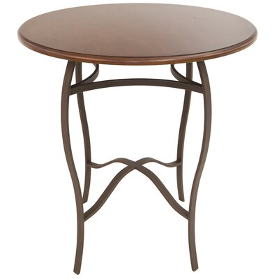 Gilman Pub Table Color: Bronze/Buckskin, Size: 36 H x 36 W x 36 D