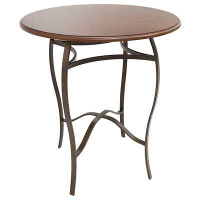 Gilman Pub Table Color: Autumn Rust/Buckskin, Size: 40 H x 36 W x 36 D