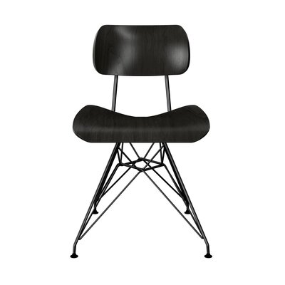 Silvernail Eiffel Dining Chair Color: Black