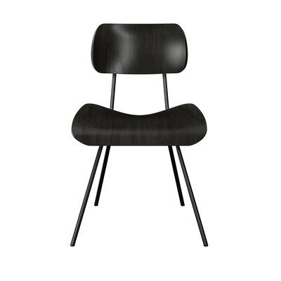Silvis Classroom Dining Chair Color: Black
