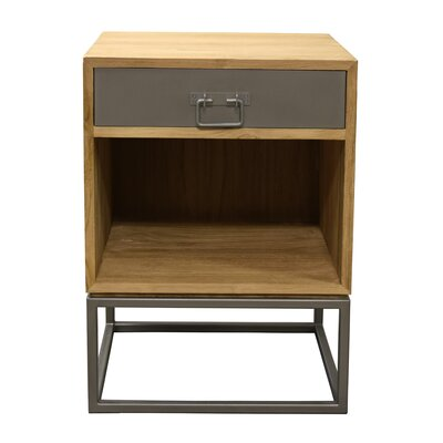 Hinkel 1 Drawer Nightstand