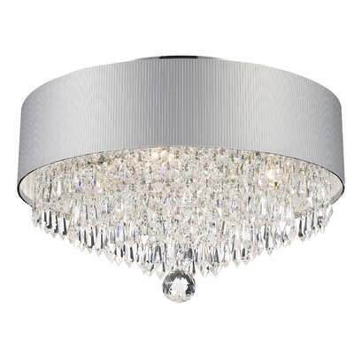 Victoria 4-Light Flush Mount