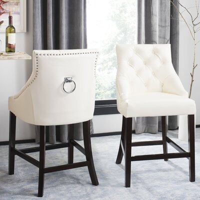 Kaczmarek Bar Stool Color: White