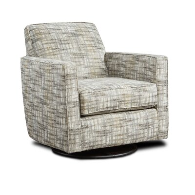 Betz Swivel Club Chair Upholstery: Emelita Spray