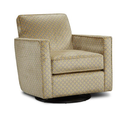Betz Swivel Club Chair Upholstery: Niko Maize