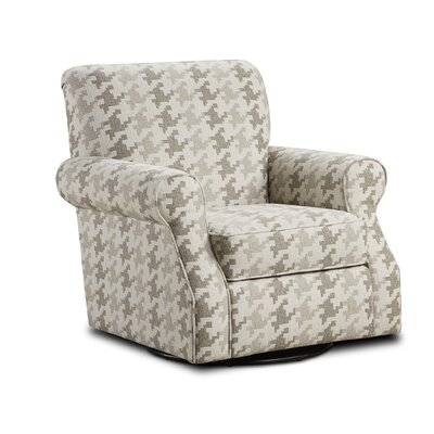 Miss Swivel Club Chair Upholstery: Blass Berber