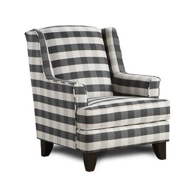 Milbridge Armchair Upholstery: Brock Charcoal