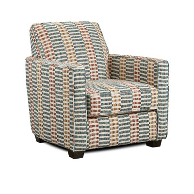 Hilyard Armchair Upholstery: Durban Kaleidoscope