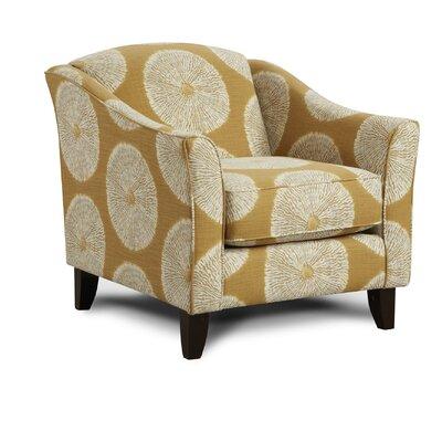 Milbridge Armchair Upholstery: Shibori Sol Amber