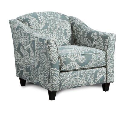 Mcnett Club Chair Upholstery: Trixi Ocean
